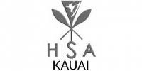 Hawaiian Surfing Association - Kaua'i logo