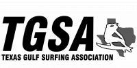 Texas Gulf Surfing Association logo