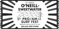 O'neill Sweetwater Pro-Am Surf Fest logo